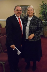 Bro Bob Norman with Ritchie Hale